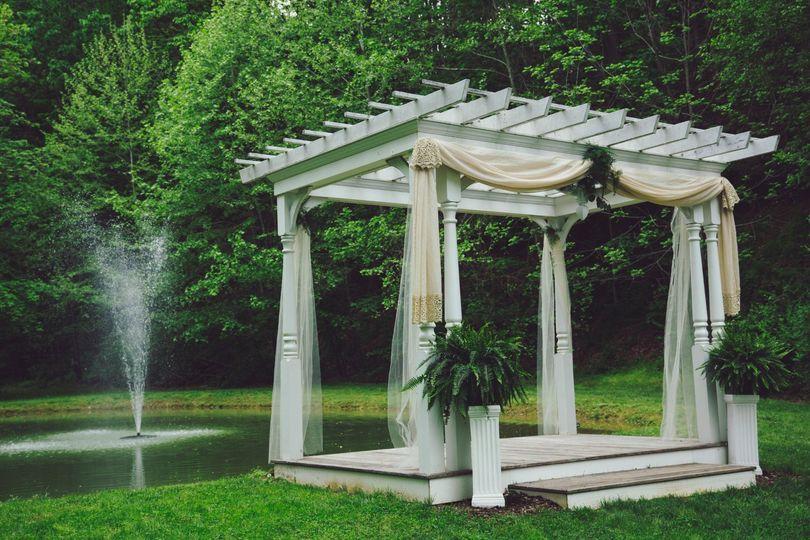 Pergola and Fountain