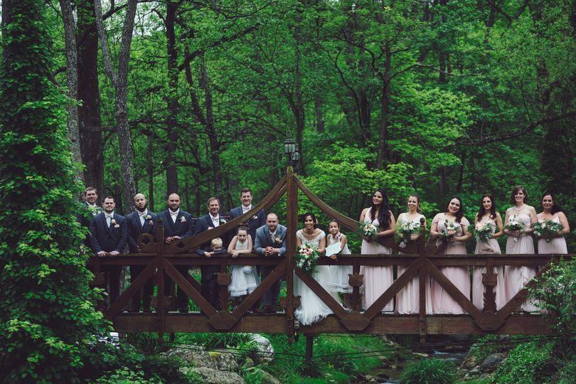 Wood Footbridge