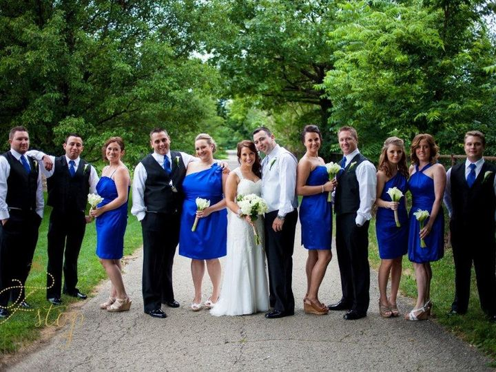 Tmx 1416603054601 Bridal Party On Path Woodridge, IL wedding venue