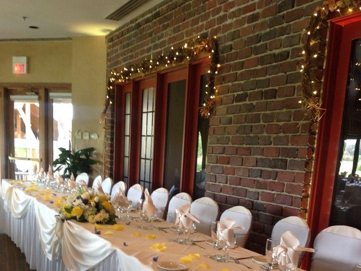 Tmx 1416603445421 Head Table By Brick Wall Woodridge, IL wedding venue