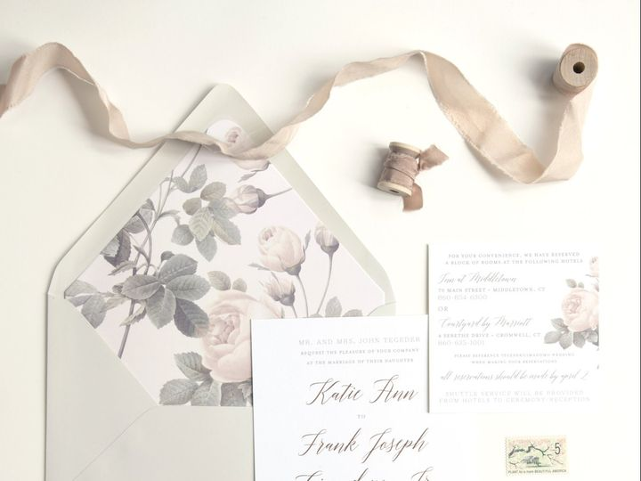 Tmx Rose 51 658997 161202622746680 Ridgefield, CT wedding invitation