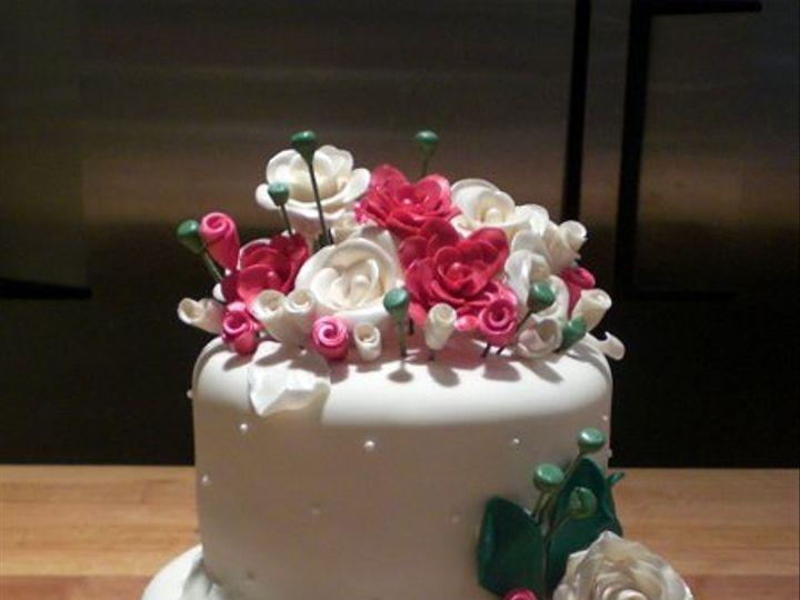 Tmx 1259287440501 Evawedding016 Stanhope wedding cake