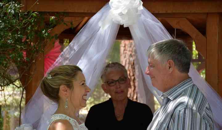 Cheryl Bariel Officiant, Bella Wedding Day