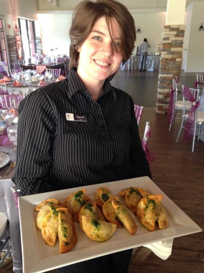 Hot, Fresh Empanadas - delivered with a smile!