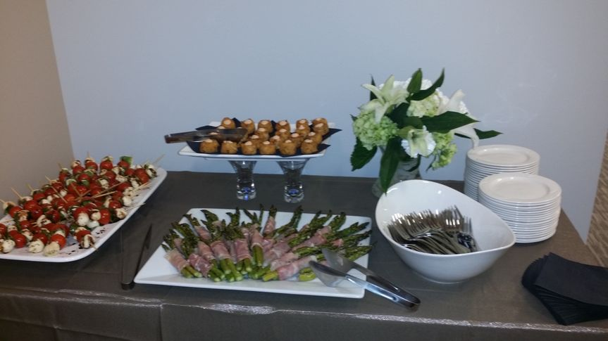 Small Appetizer Display