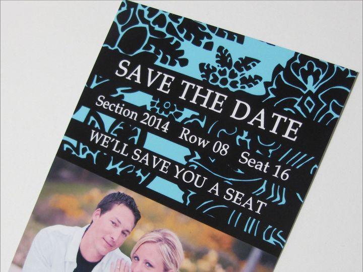 Tmx 1369417774341 Stdc19large Garden City, ID wedding invitation