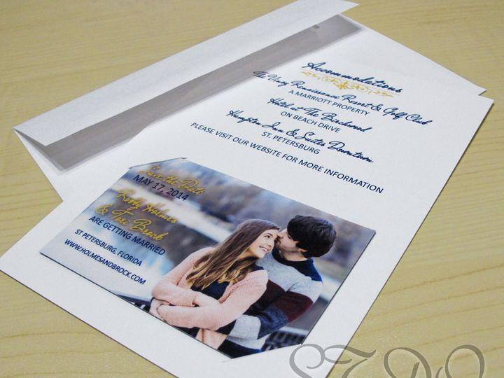 Tmx 1395498078200 Slittedcard201 Garden City, ID wedding invitation