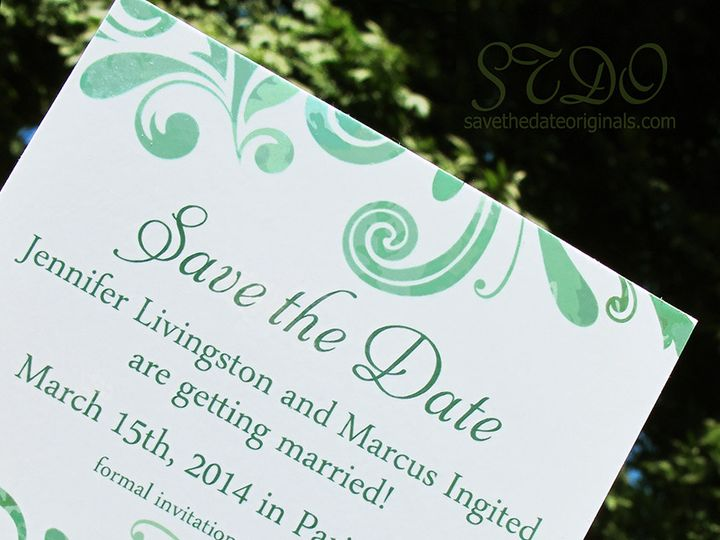 Tmx 1414095113302 Mr70green Garden City, ID wedding invitation