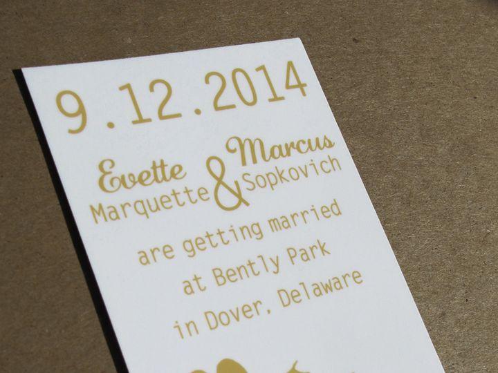 Tmx 1414095137635 Ms44gold2 Garden City, ID wedding invitation