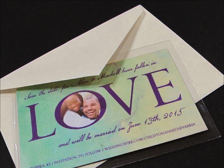 Tmx 1414095177238 Love Garden City, ID wedding invitation