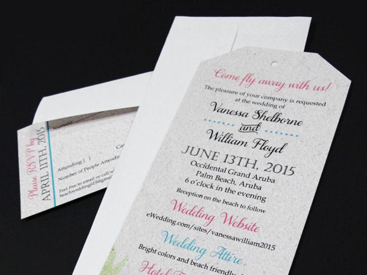 Tmx 1435629551683 Luggageinvitation20151 Garden City, ID wedding invitation
