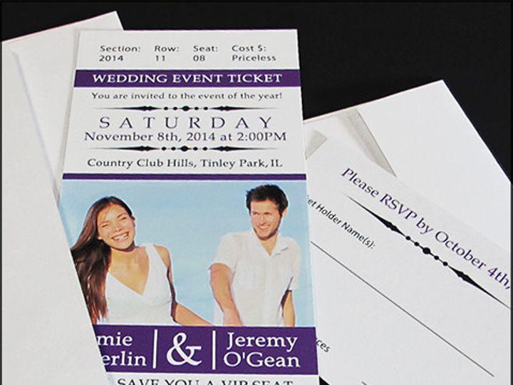 Tmx 1435629579472 Inv292014m1 Garden City, ID wedding invitation