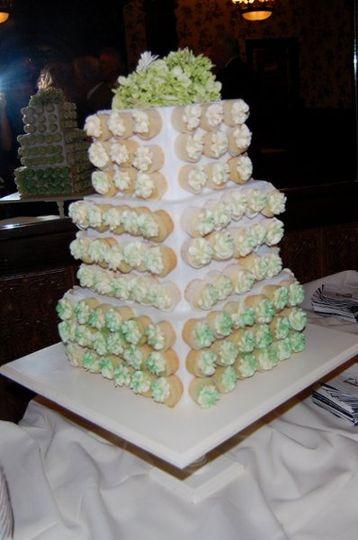 Mini Cupcake wedding cake