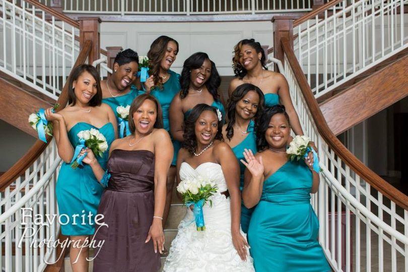 Bridal Party!!!