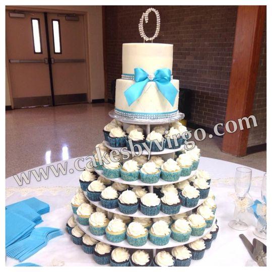 okobi wedding cake