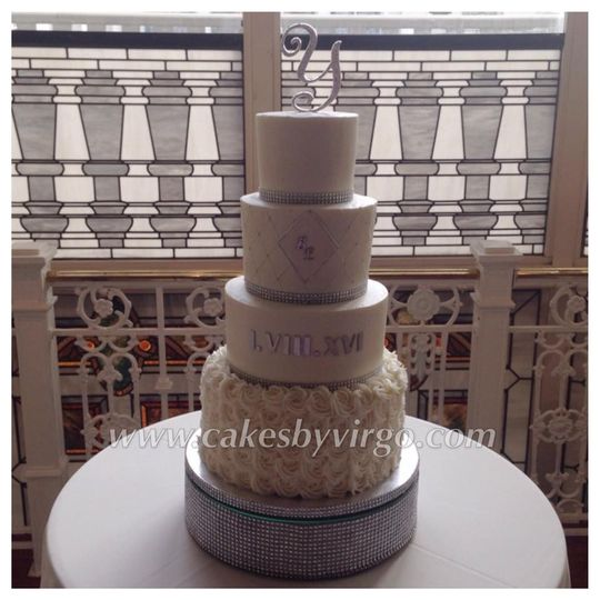 simmons wedding caek