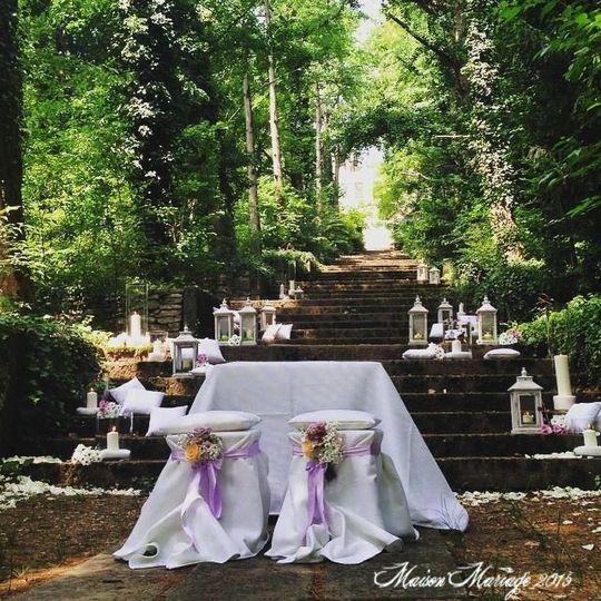 cerimonia nel bosco