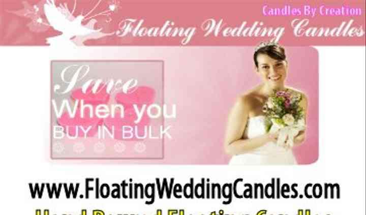 Floating Wedding Candles .com