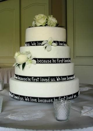 800x800 1223750414000 4tierroundweddingcake%2ccustomblackribbon