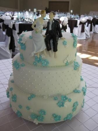 800x800 1247537762927 tiffanybluedaisyweddingcake