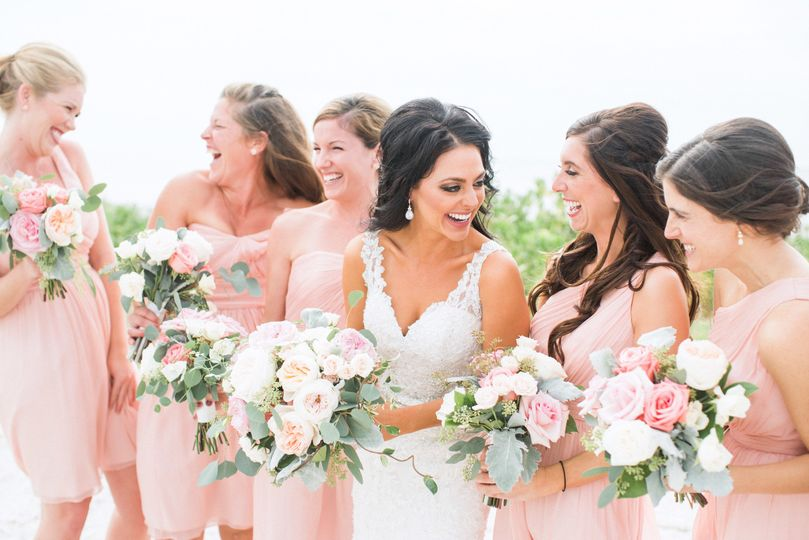 Jamie Lyn Cintron Salon Spa Wedding