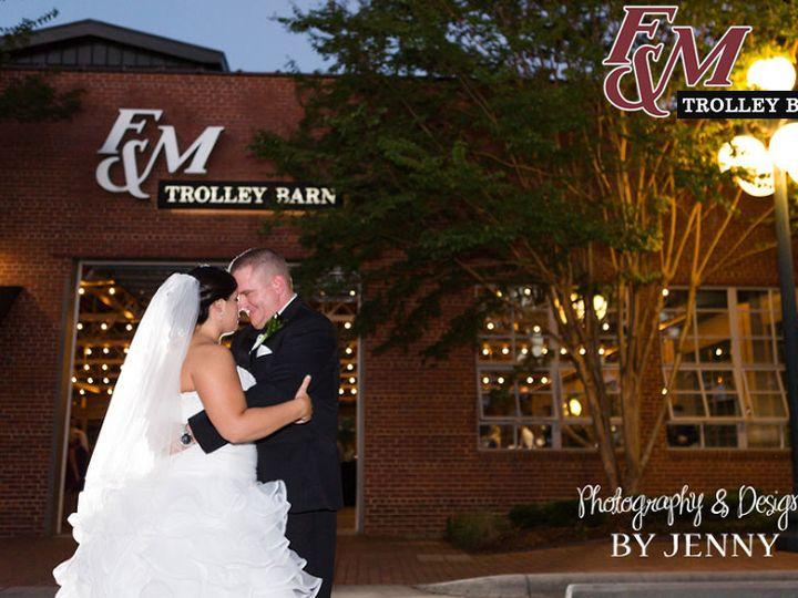 Tmx 1498074378565 Fm Trolley Barn Bride  Groom Kiss Salisbury, NC wedding venue