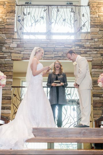 Reciting of wedding vows