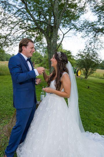 Sealing vows with a Quaich!