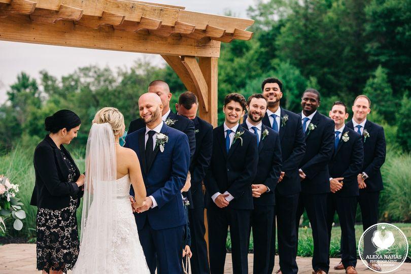 Happiest groomsmen ever!