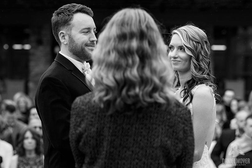 That look! Bear Creek Wedding