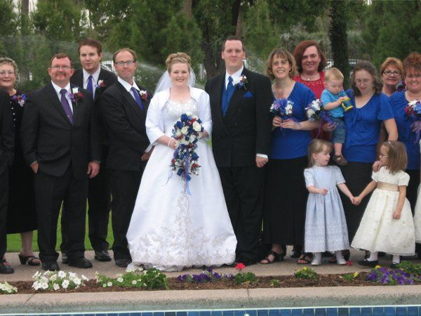The couple and their guests