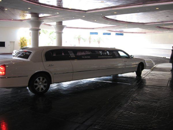 The limo at my mothers wedding