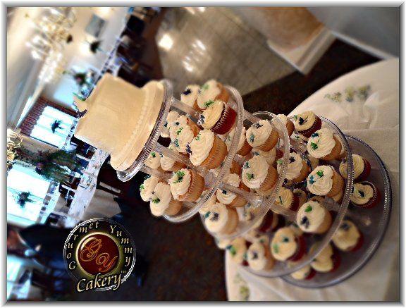 Tmx 1283895924819 RodriguezWeddingGlam Winston Salem wedding cake