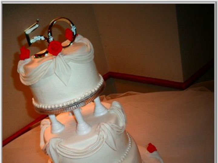 Tmx 1283896838429 GYCRakes50thglam Winston Salem wedding cake