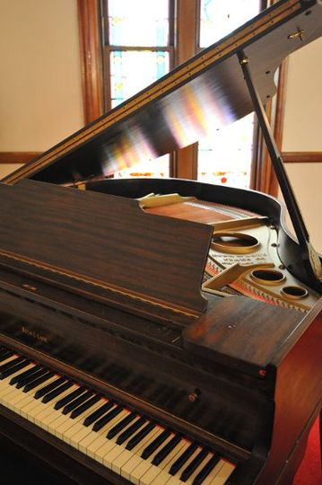 Baby Grand Piano made by Bush and Lane , Chicago
