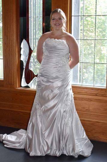 Mon Cheri Silver Dress