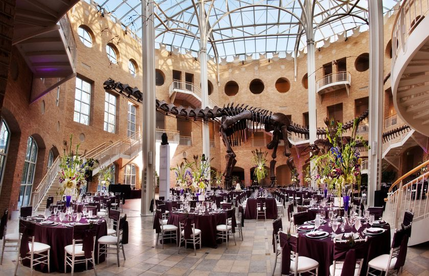 Fernbank Museum Of Natural History Wedding Ceremony Amp Reception Venue Wedding Rehearsal Dinner