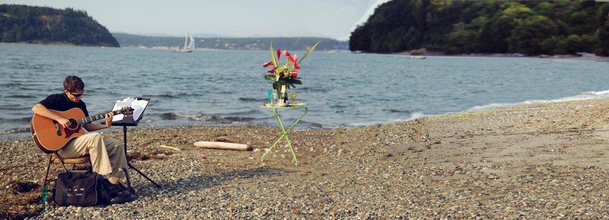 Whidbey Island - Beach Wedding