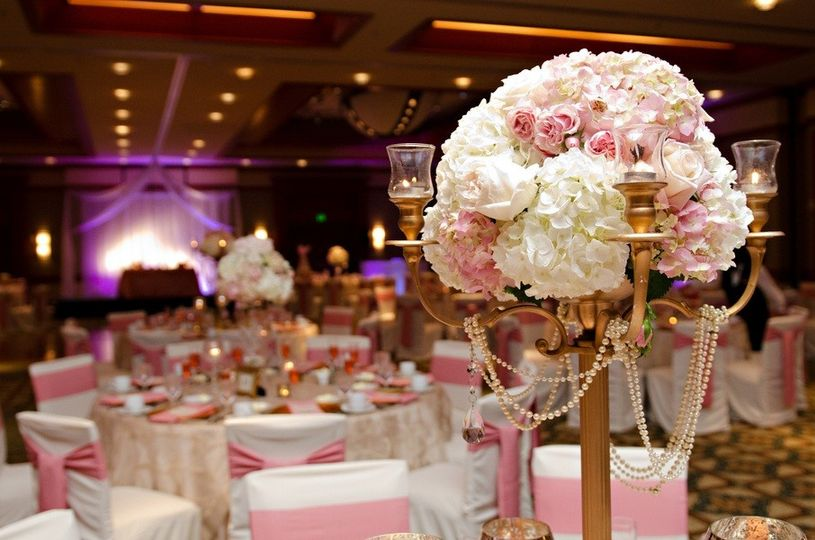 light pink receptions