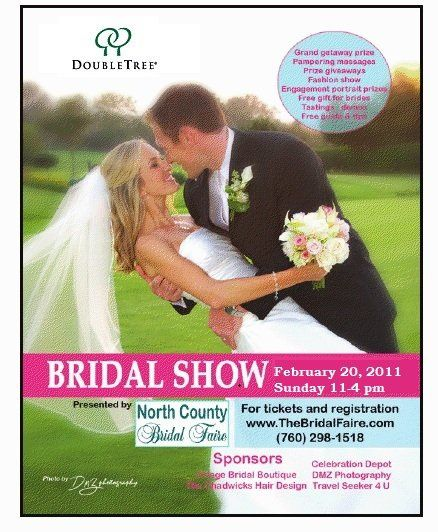 Business and bridal show 2/20/11 at the Doubletree Golf Resort. 3 trips to win.