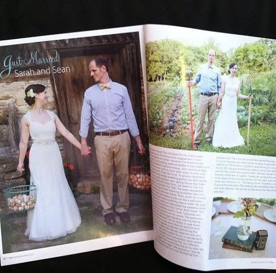"""Hair by Master Stylist Brandelyn, featured in Sophie Magazine's wedding guide """"I Do!"""""""