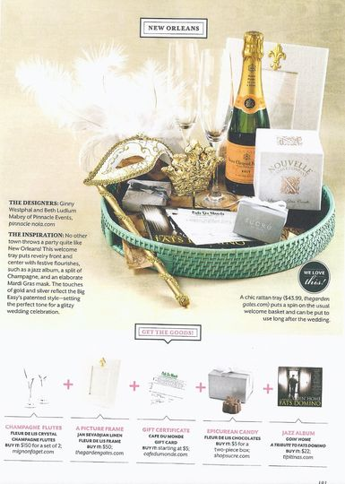 We are extremely excited to announce that Pinnacle Events has been featured in Southern Living...