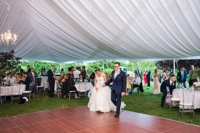 Cherry Dance Floor 60 Wide Tent