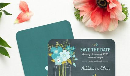 Edwin & Lynn Wedding Invitations 1