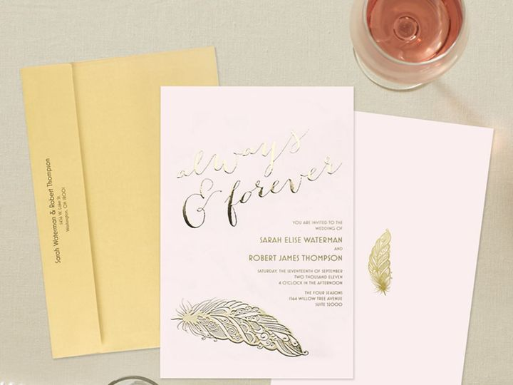 Tmx 1535847931 Cc2113d0e6fc55fd 1535847929 3bad752702f9b9dd 1535847928198 2 Wedding Set 6 Raleigh, NC wedding invitation
