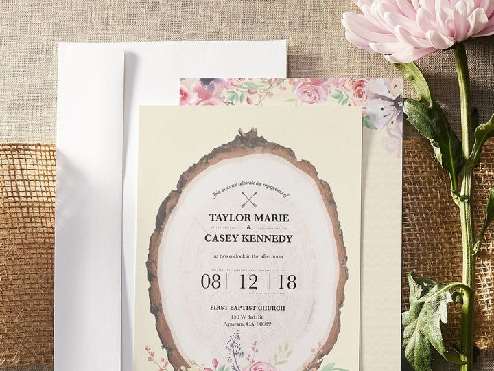 Tmx 1535847931 D5f5dbe60ddf273c 1535847930 25adc5567010cb08 1535847928207 3 Wedding Set 7 Raleigh, NC wedding invitation