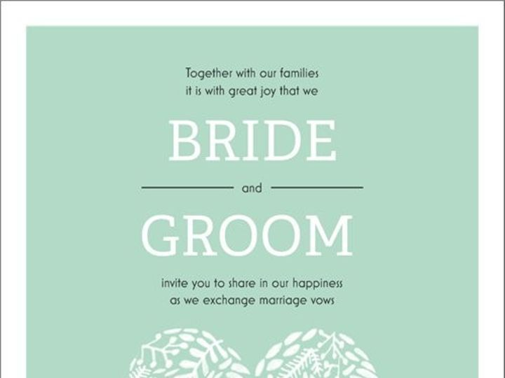 Tmx Invite 14 51 1015108 158586759114662 Raleigh, NC wedding invitation