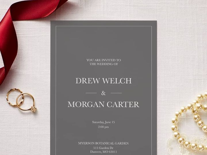 Tmx Wedding Set 17 51 1015108 158586751096636 Raleigh, NC wedding invitation