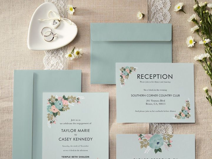 Tmx Wedding Set 51 1015108 158586751183601 Raleigh, NC wedding invitation