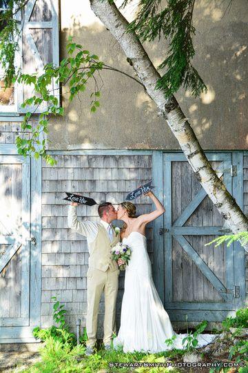 A wedding I photographed at Sebago Lake, Maine.